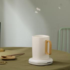 【魔法暖暖养生杯+手机无线充】自动搅拌牛奶神器加热水杯55度保温无线充电