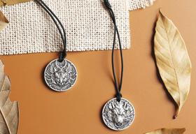 【情人节礼物】奇幻生肖守护系列之鼠年银章挂件