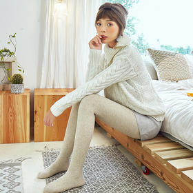 【1条=保暖裤+收腹裤+美腿袜!】HELLOFREE魔力微压袜 360度立体塑形 保暖高弹更显瘦 四种厚度多种配色 随时随心随意搭配