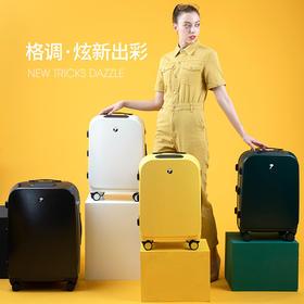 顺丰包邮美炫行李箱指纹解锁拉杆箱智能登机箱24寸男20寸女小型轻便行李箱