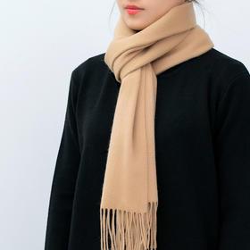 新年送礼佳品 内蒙古100%羊毛围巾