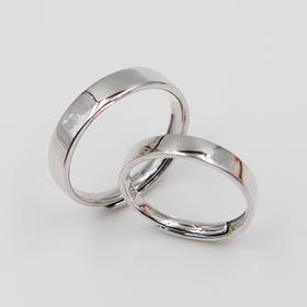 【如今是你,往后也只有你】s925银情侣对戒 戒指