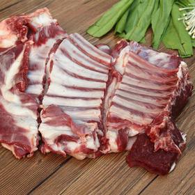 【精选】羔羊部落 内蒙古太极原上道散养新鲜驴肋排|生态放养 肉质鲜美 毫无擅味|1KG/袋装【生鲜熟食】