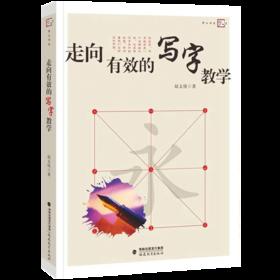 现货正版 走向有效的写字教学 教师用梦山书系走向有效的写字教学