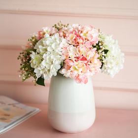绣球花仿真花花束假花摆件客厅餐桌摆设婚礼手捧花电视柜装饰花