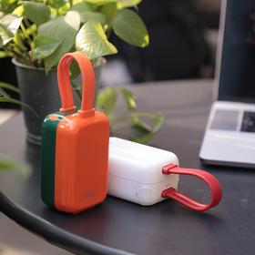 Eary一粒 伴侣充电宝带插头充电器二合一超薄小巧便携式迷你PD快充