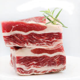 【精选】羔羊部落 内蒙古太极原上道散养新鲜牛腩|生态放养 肉质鲜美 毫无擅味|1KG/袋装【生鲜熟食】