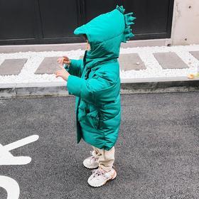 【寒冰紫雨】 童装羽绒棉服幼儿园男童中长款卡通动漫可爱外套    AAA7597