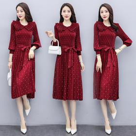 CQ-QY99956新款2020年春季波点时尚气质连衣裙TZF