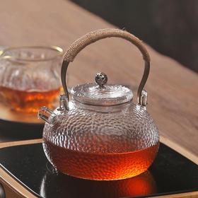 品一恒 | 日式锤纹提梁壶 日本工艺耐高温 电陶炉煮茶器