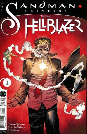变体 康斯坦丁 地狱神探 Sandman Universe Presents Hellblazer