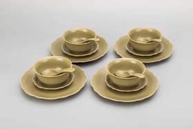 【四个仅需99元  秘色】卢钧窑 | 喜乐团圆碗 4个装 小碗