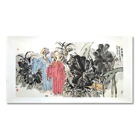 直播28号徐志敏荷塘仕女8平尺