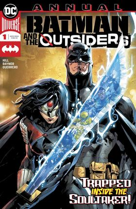 蝙蝠侠与局外人 年刊 Batman And The Outsiders Annual
