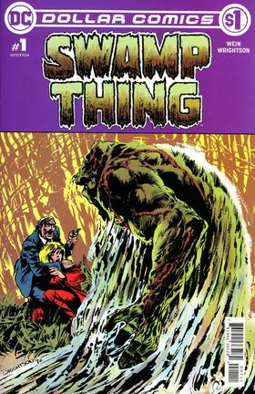 沼泽怪物 Dollar Comics Swamp Thing