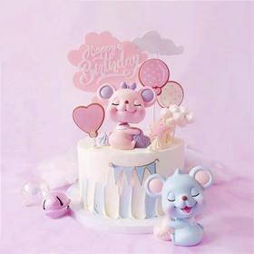 【鼠年上新】鼠宝宝Lucky baby·新年卡通蛋糕