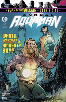 海王 年刊 Aquaman Annual