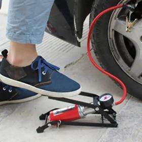 车玛仕(CHEMAS) 脚踏充气床汽车轮胎电动车摩托车打气泵