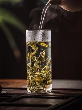 永利汇茶具 玻璃杯单层绿茶杯水杯双层防烫男女士家用花茶杯简约