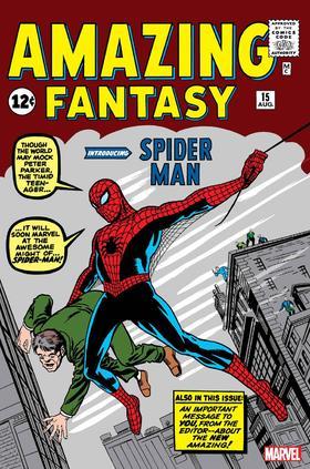 惊奇幻想 蜘蛛侠 经典复刻 Amazing Fantasy #15 Facsimile Edition