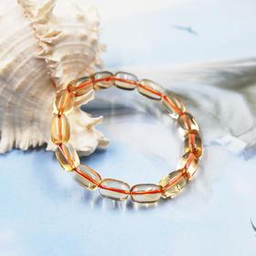 【3折】天然黄水晶手串