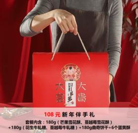 【新年伴手礼】豪华套餐礼盒2选1(详情看图)