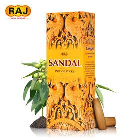 RAJ印度香 檀香迷沉香 多味原装进口手工香薰熏香料线香卫生香除臭