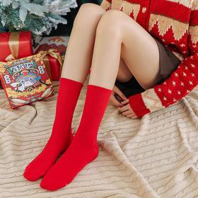 金鼠纳福中筒袜礼盒(6双装)| 福鼠财神萌翻天,红袜子陪你好运过本命年