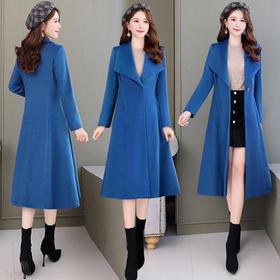 CQ-OKYZ6828气质时尚潮流长袖毛呢大衣