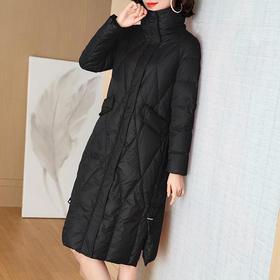 WLZD-1934108时尚休闲中长款保暖羽绒服外套