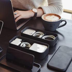 美国Bento Stack原创设计便当盒收纳盒 帮你收纳各类数码配件,无线充款13号发货