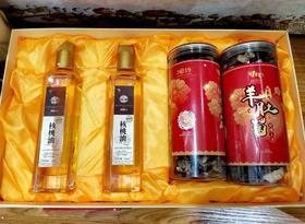 核桃油与珍菌礼盒