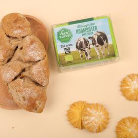 荷兰乐荷黄油 三重有机认证,12升生牛乳才有1块它