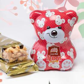 金玛丽泰迪亲子装糖果饼干礼盒 马来西亚进口零食 吃完还可以当存钱罐~