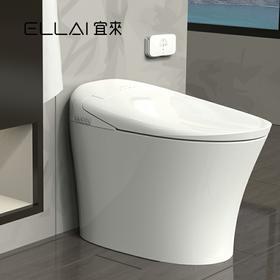 宜来卫浴一体马桶pp加热智能坐便器一体机女性一体智能坐便器-智简E-25012-G