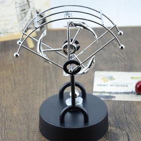 永动天体仪办公摆件物理教科摇摆器新型减压精品礼品电动永动机家居饰品