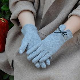 JC-冬季新款女士手套触屏薄款保暖手套