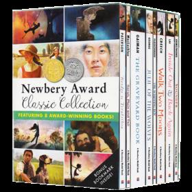 纽伯瑞获奖儿童文学奖小说全套8册Newbery Award成长故事 英文原版青少年中小学英语读物Inside Outand Back Again/Walk Two Moons