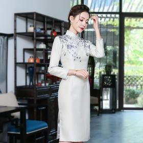 XGT-Q9431新款改良版中国风复古日常气质旗袍TZF