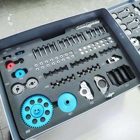 四缸发动机模型——全金属