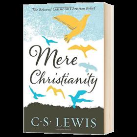 刘易斯经典 反璞归真 英文原版文学书 Mere Christianity 英文版原版书籍 纳尼亚传奇作者 C. Lewis Signature Classic 进口英语书