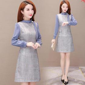 YWE-TYH93978新款时尚气质优雅减龄连衣裙