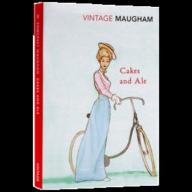 寻欢作乐 英文原版 文学小说 Cakes And Ale 毛姆 英文版原版书籍 正版进口英语书 Vintage Classics