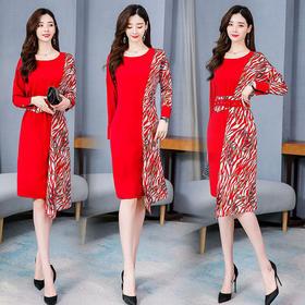 CQ-SNX2030新款气质时尚休闲优雅连衣裙TZF