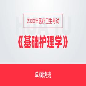 2020年医卫生考试《基础护理学》单模块班