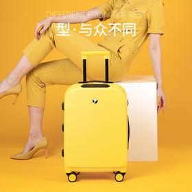 【指纹解锁 刮不花踩不烂的行李箱】智能指纹解锁拉杆箱 小型轻便登机箱 太阳能充电  防刮防爆
