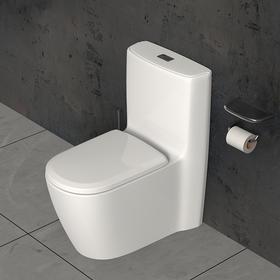 宜来卫浴家用坐便器防臭节水静音陶瓷抽水马桶-E-21020-G圣杯