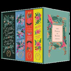 The Puffin in Bloom Collection 英文原版 企鹅繁花女孩经典套装 小妇人 小公主 海蒂 绿山墙的安妮 英文版进口英语儿童文学书