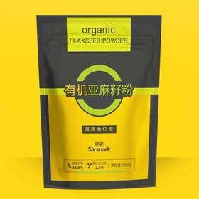 有机亚麻籽粉250g/袋 高纤维低碳水,补充优质蛋白