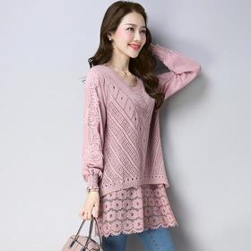 FCY-E88521新款2020蕾丝针织打底衫